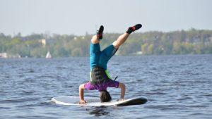 LSURF szkoła windsurfingu Zegrze SUP