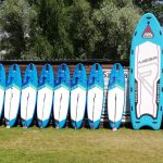 Lsurf windsurfing zegrze nauka SUP